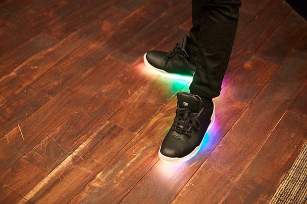 履き心地は通常の靴と変わらない。