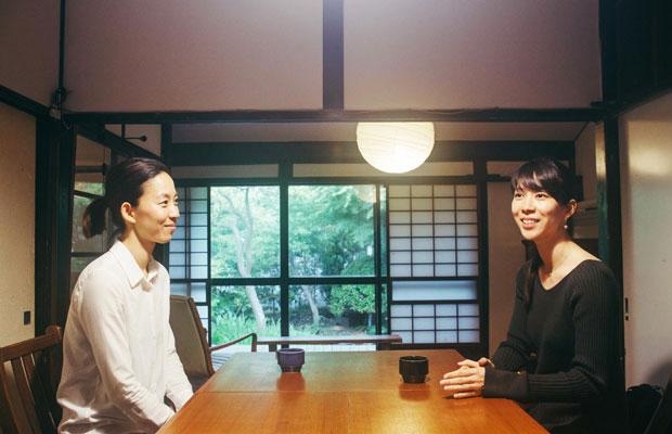 〈蕾の家〉でお話をうかがった池田めぐみさん(左)とさゆりさん(右)。