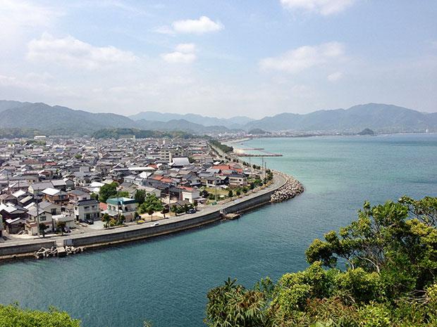 長門市仙崎は海産物が有名。童謡詩人の金子みすゞ生誕地としても知られる。