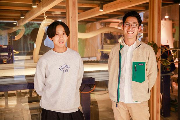 〈ヴィルド〉CEOの秋吉浩気さん(左)と、COOの井上達哉さん(右)。
