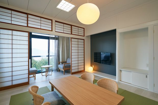 bio terrace ORGANiCA HAKONEの客室(和室)