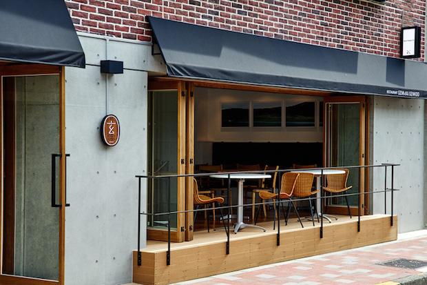 〈レストラン GENMAI GENKIDO〉場所は閑静なエリアに隠れ家的なお店が点在する、渋谷区松濤。