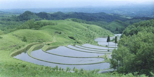 熊本玄米研究所は阿蘇山の麓にあります。