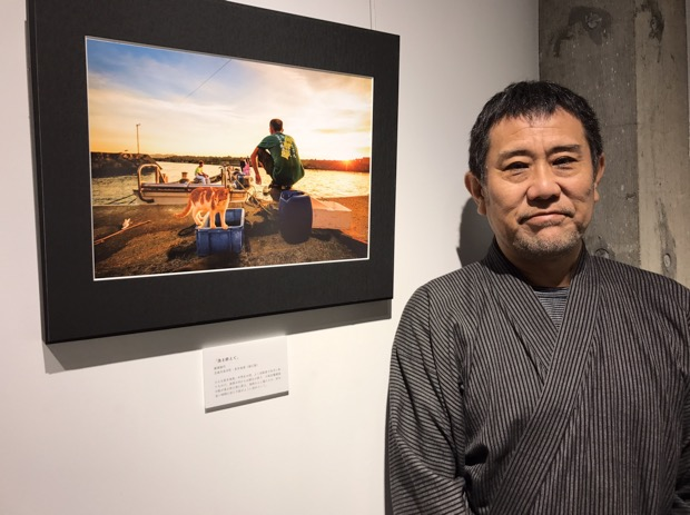福江島(五島市)で活躍するカメラマン・廣瀬健司さん。元警察官という異色の経歴の持ち主。