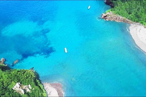 美しい西伊豆の海