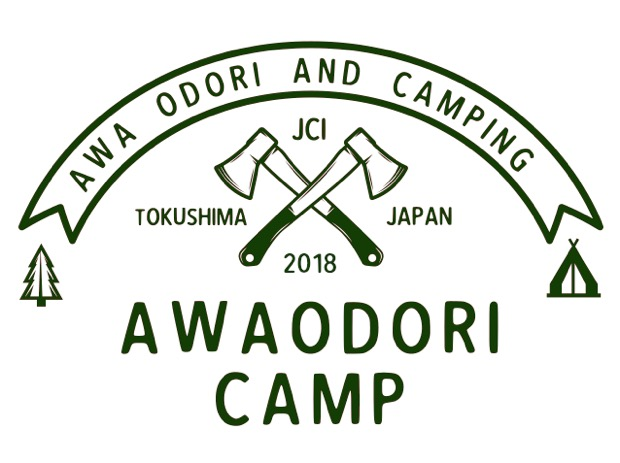 AWAODORI CAMP ロゴマーク