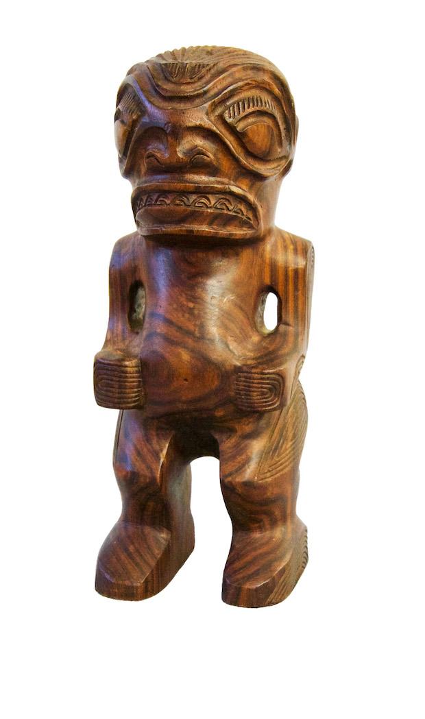 ティキ像 フランス領ポリネシア・マルケサス諸島 個人蔵