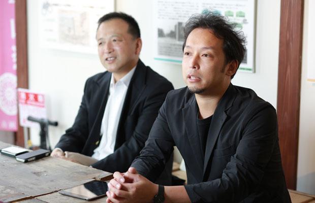 建築家の大菅洋介さん。