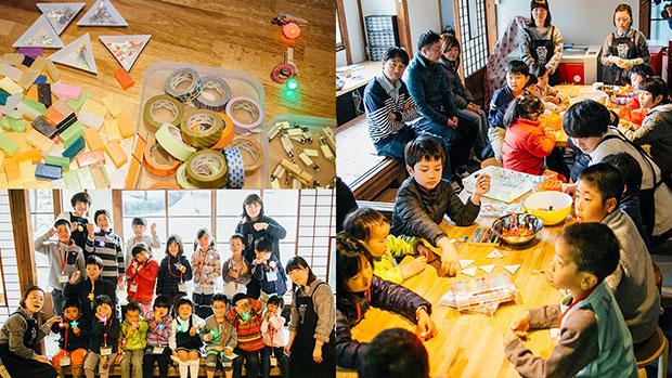 2017年3月に開催された〈かまくらツクルンダ!!村〉でのワークショップの模様。今後もこのスペースを使ってさまざまなワークショップが開催される予定だ。(画像提供:カヤック)