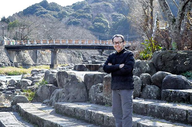 年4回開催の推進会議をはじめ長門湯本温泉に通う星野さん。