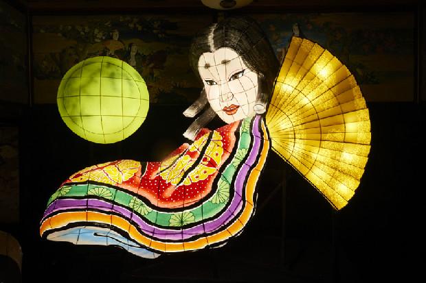 北村さん制作「かぐや姫」