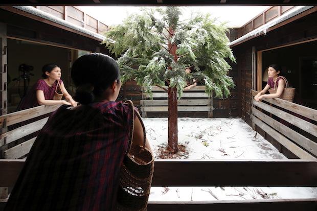 レアンドロ・エルリッヒ『Lost Winter』Photo:Keizo Kioku