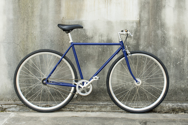 ホリゾンタル 税別55,000円〜 自転車の基本形といえるホリゾンタル(水平)フレーム。