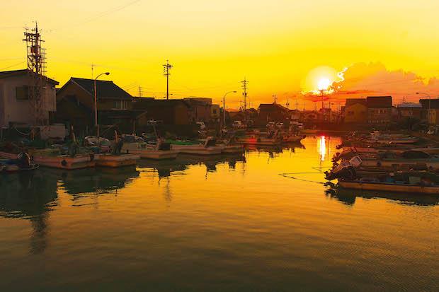 木曽三川の自然の恵みを享受する水の郷、桑名市。