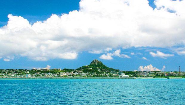 実際の伊江島