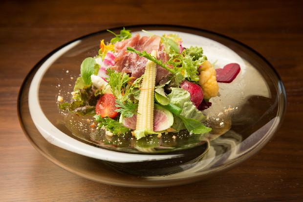 野菜は新鮮な無農薬のものを使用。