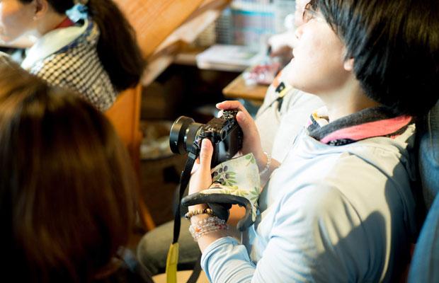 初めてカメラを使う方から普段から使ってる方までさまざま。