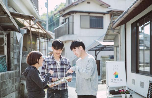 市外県外から訪れる人にとって、八幡浜の活動拠点として利用してもらいたいと濵田さんは考えている。