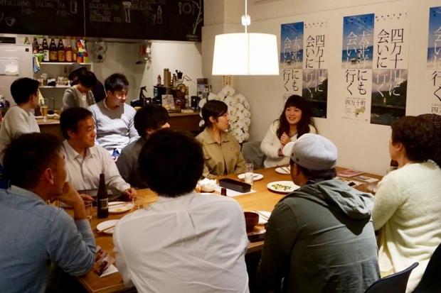 県内で面白い取り組みをしている人やお店を招いたイベントを日夜開催。(写真提供:TOMARIGI)