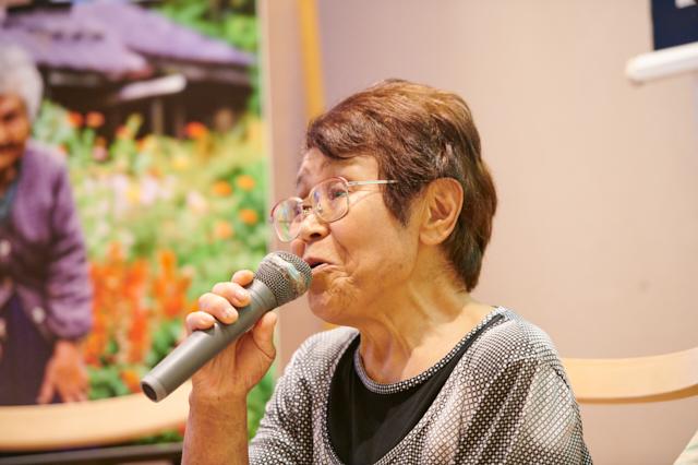 味噌づくり名人の滝澤静子さん。