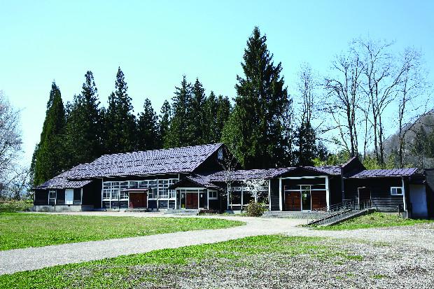 キャンプが行われる中条音楽堂。