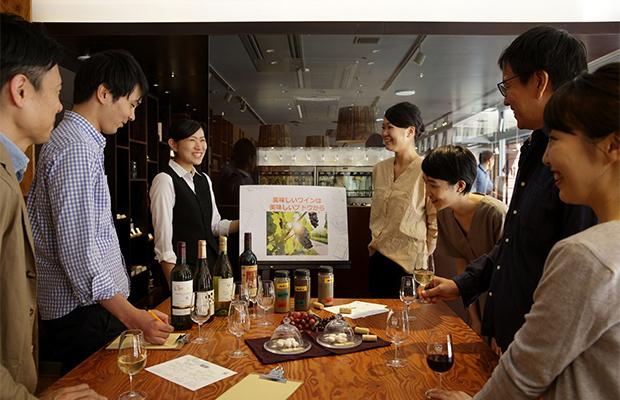 講師は八ヶ岳エリアのワインを愛するスタッフが務めます。