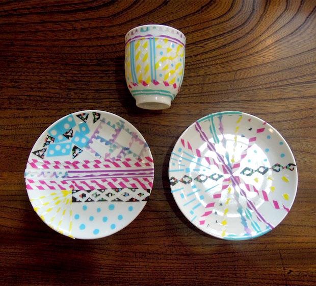 creava・藤丸枝里子師匠と取り皿に染付で絵付けしよう