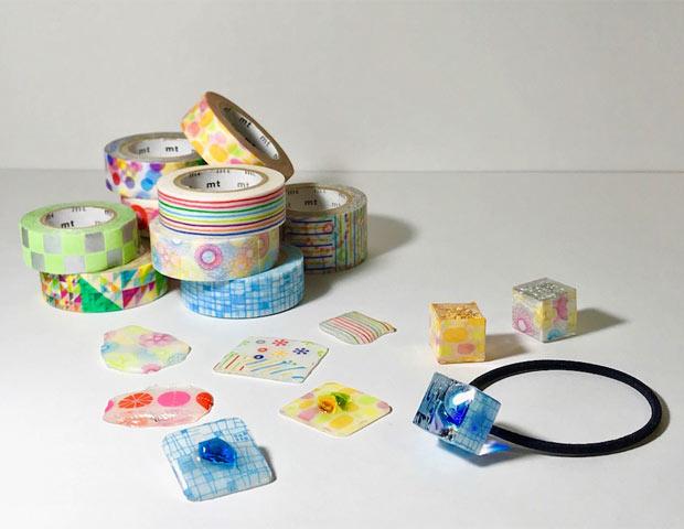 ガラス作家・田聡美師匠とガラスとレジンのアクセサリーを作ろう