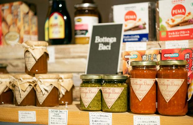 たつまき堂がセレクトした自然派食品。小さな子どものいる世代に特に人気。