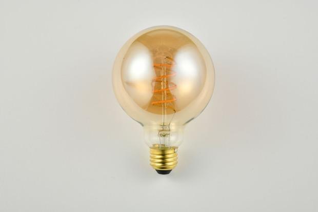 〈LED SWAN BULB vintage filament〉ボール電球