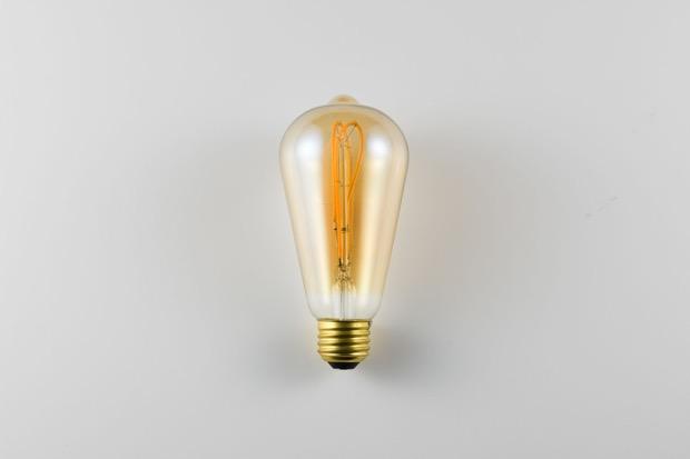 〈LED SWAN BULB vintage filament〉エジソン