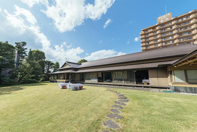 昨年の会場は、江戸時代初期に建てられたとされる南部会館だった。