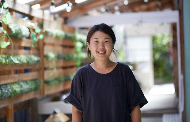 オーナーの青柳花子さんがお出迎えしてくれました。