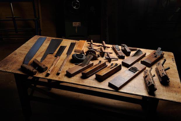 工芸に欠かせない道具たち