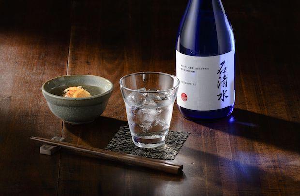 本みりん九重櫻の仕込み焼酎〈石清水〉