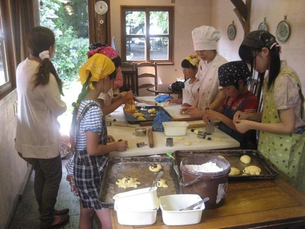 パン教室の様子