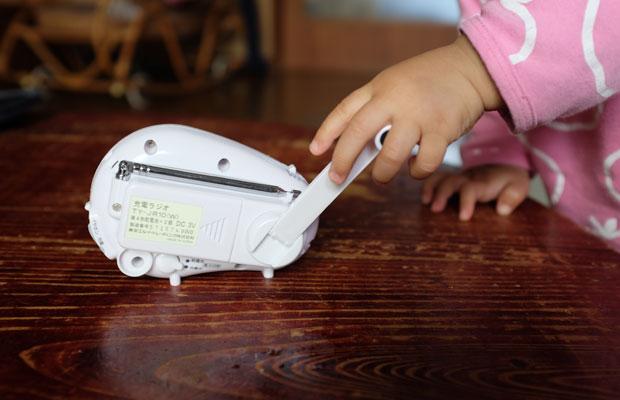 東日本大震災をきっかけに防災セットを揃えた。ハンドルをまわすと充電ができるラジオは今回とても役に立った。