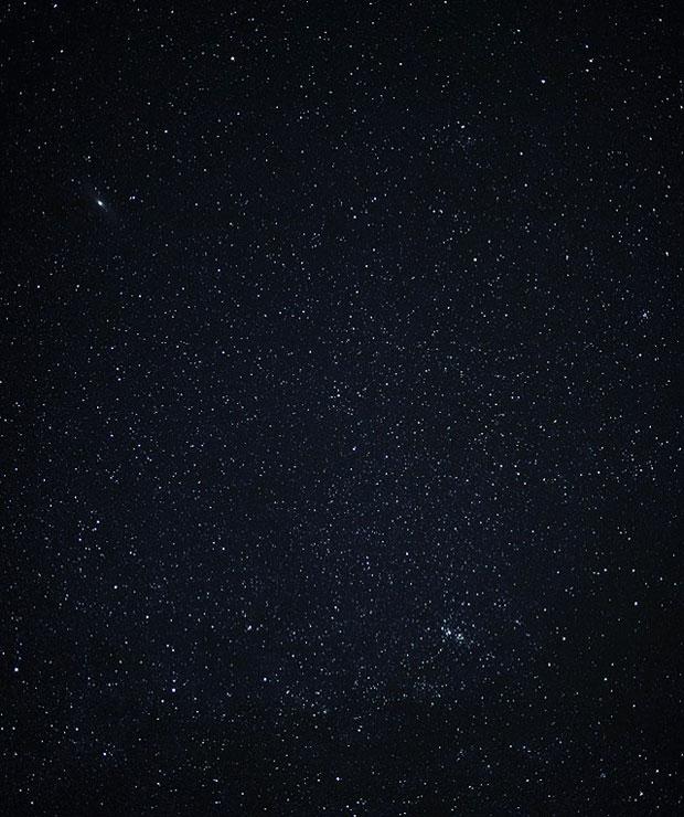 札幌に住む友人が撮影した夜空。停電によって、普段は見られない美しい星空が現れたという。(写真提供:佐々木育弥)