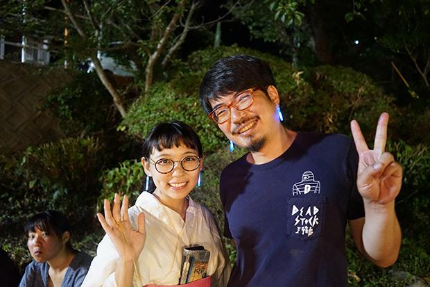 棚田オーナーのメンバーが地域のお祭りに来てくれました。