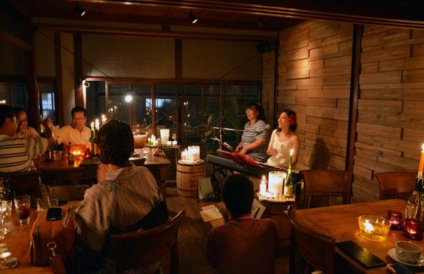 北村安都子さんによる真夏のワンマンライブ。