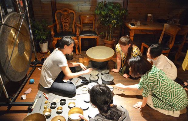 松本一哉さんによる打楽器のヒーリングライブ。