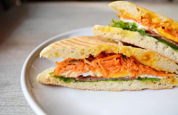 体にやさしい10種類のサンドイッチを考えました。