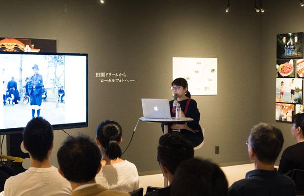 今年の6月に開催されたMOTOKOさんの写真展『田園ドリーム2018』。