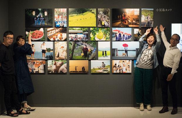 小豆島カメラの写真も展示されました。