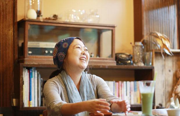 オーナーにして建築士の金木由美子さん。