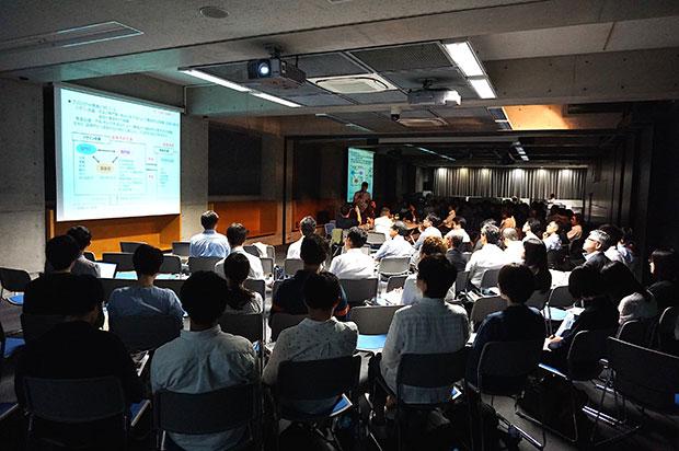 多くの来場者が訪れた早稲田大学西早稲田キャンパスでのイベント。