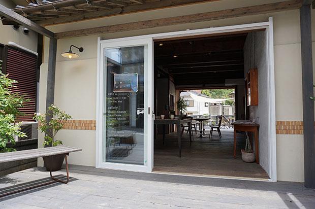 大人気の〈café&pottery音〉。萩焼に親しみながら憩えるカフェ。