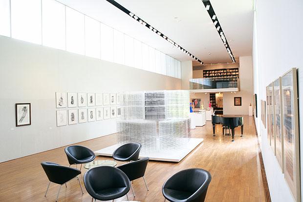 音楽をテーマにした美術館。