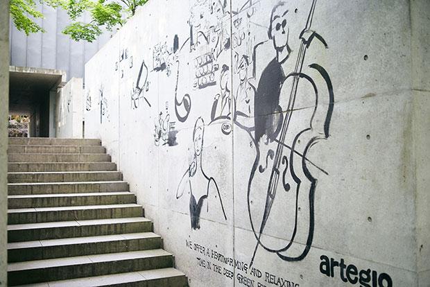 〈artegio(アルテジオ)〉では音楽イベントも開催している。