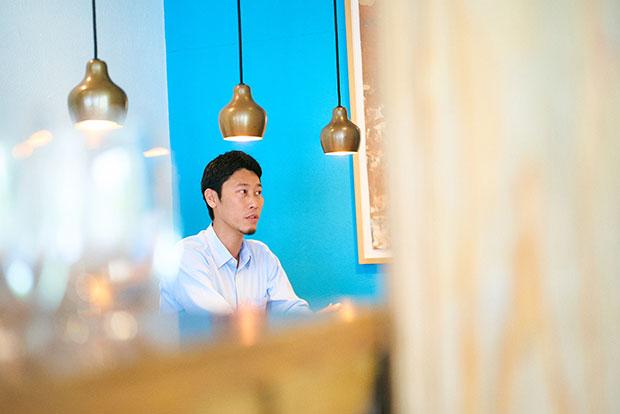 洋菓子事業部長の志津野類さんは神奈川県出身。
